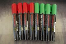 Waterproof Windshield Glass Neon Liquid Markers Christmas Colors 4 Green 4 Red