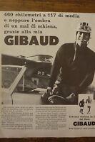 ADVERTISING PUBBLICITA'  DOTT. GIBAUD cintura elastica in lana -  1960