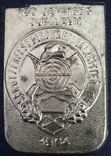 ✚2615✚ German Shooting Association jubilee badge 1954 Deutscher Schutzenbund