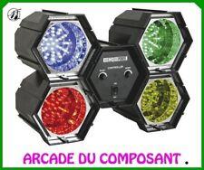 1 JEU DE LUMIERE CHENILLARD MODULATEUR 4 SPOTS A LED (ref 89546-1) Poids 1,900Kg