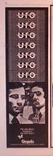 "1978 Ufo ""Obsession"" Album Trade Ad"