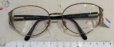 Lozza VL 1093 occhiale donna nuovo vintage anni 90' metallo colore oro