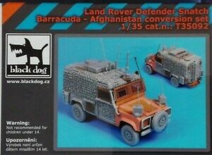 MODELLISMO - LAND ROVER SNATCH BARRACUDA - CONVERSION SET- BLACK DOG 1:35 Scale