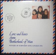 BROTHERHOOD OF MAN -LOVE AND KISSES FROM BROTHERHOOD OF MAN VINYL LP UK PRESSING