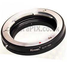 C/Y-Nikon MACRO Contax Yashica Zeiss Yashinon mount Lens to Nikon camera adapter