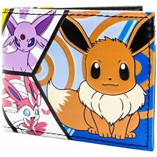 Official Pokemon Eevee Evolutions Panel Patterned Wallet *SECOND*