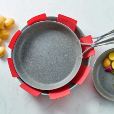 New listing Ballarini 5-piece Pan Protector Set Neat Organization For All Your Pots and Pans