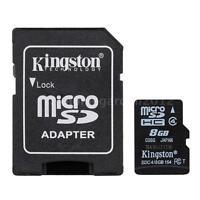 Kingston Micro SD MicroSDHC Class 4 SDC10/8GB 8G Class4 Memory Card New K5I4