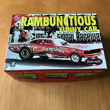 GENE SNOW'S RAMBUNCTIOUS FUNNY CAR 1:25 SCALE POLAR LIGHTS MODEL KIT