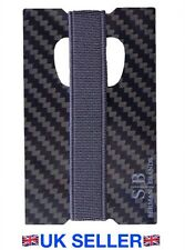 Carbon Fibre Card & Money Holder Clip RFID 100% Genuine Carbon Fibre Very Light