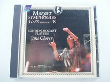 JANE GLOVER CONDUCTS MOZART SYMHONIES 34, 35 & 39 - CD