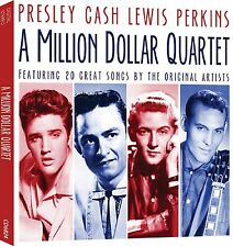 A Million Dollar Quartet - Elvis / Cash / Perkins / Lewis CD - BRAND NEW SEALED