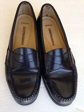 Johnston Murphy Men's Size 8 Black Sheepskin Loafers