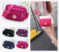 XIN Pure Color Canvas Women's Shoulder Messenger Small Bags Cross Body handbag