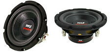 "NEW (2) 8"" DVC Subwoofer Bass.Replacement.Speakers.Dual 4 ohm.Car Audio Subs.8in"