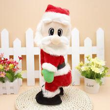 Christmas Santa Clause Toy Plush Twerking Xmas Gift Kids Presents Decorations