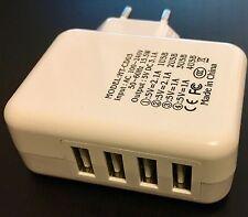 EF Mini Netzteil mit 4x USB Stecker Steckdose Adapter extra schmal kompakt U