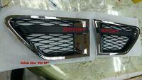 MIT CHROMED & BLACK SIDE VENT RL RANGE ROVER SPORT L320 SPORT MODEL 2010-2013