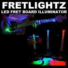 RED FretLightZ LED Fretboard Light for stringed musical Instruments FRETLOR