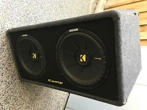 kicker subwoofer and amplifier