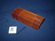Bongossi Eisenholz Messergriff Messergriffblock   120 x 42 x 30 mm     Nr.  8
