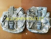 Molle II Canteen / Utility Pouch ACU Digital Camo Pattern - Lot of two (2) NICE