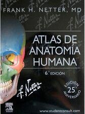 Atlas de Anatomía Humana Netter 6ª Edición libro digital