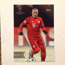 FRANCK RIBERY #133 FC Bayern Munchen #/10 Made 2016 Topps Champion UEFA 5X7 GOLD