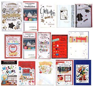 CARDS FOR-GOOD LUCK EXAMS, GRADUATION,GCSE & A-LEVEL RESULTS.NEW & BACK 2 SCHOOL