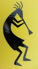 Kokopelli celtic fertility God myths magic stickers/car/van/window/decal 5300 bk