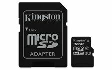 Kingston Canvas Select 32GB Class 10 MicroSDHC Card - (SDCS/32GB)