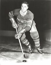 JEAN BELIVEAU 8X10 PHOTO MONTREAL CANADIENS PICTURE B/W NHL