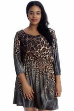 Animal Print Polyester Dresses Any Occasion
