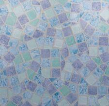 Klebefolie - Möbelfolie Mosaik blau Dekorfolie 67.5 cm x 200 cm Selbstklebefolie