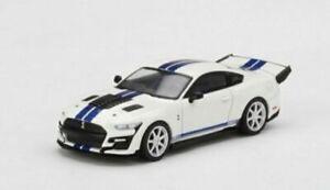 PRE-ORDER- TSM MINI GT -SHELBY GT500 DRAGON SNAKE CONCEPT - WHITE - MGT00318-L