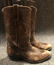 Vintage Red Wing Pecos Distressed Leather Cowboy Boots Mens Size 10B 🇺🇸 9801