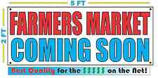 FARMERS MARKET COMING SOON Banner Sign NEW Larger Size High Quality! XXL