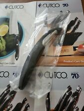 CUTCO Classic Black Handle Vegetable Potato Peeler Model #1501, USA Made NEW