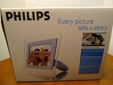 """DIGITAL PHOTO FRAME Philips 7FF1AW/37 High Pixel Density 6.5"""" (5.4""""x3.6"""") Tested"""