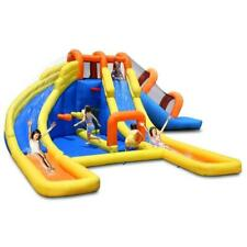 Duplay Happy Hop Inflatable 24ft X 21ft Mini Water Park 9045