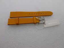 Genuine Michele 16mm  Yellow Galuchat Watch  Strap Bands New
