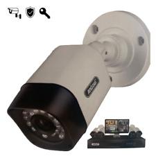 VIDEOCAMERA Telecamera Di Sorveglianza DVR Infrarossi HD Esterno Interno 1080P