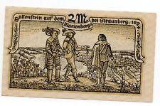 Duitsland / Germany - notgeld - Strausberg - 2 Mark