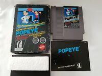 Popeye - Nintendo NES Mattel Game [PAL A GBR/AUS/ITA] - CIB