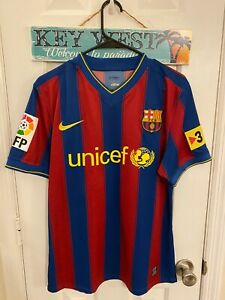 2010 FC Barcelona Match worn Jersey Jonathan Player issue Mexico LA GALAXY shirt