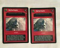 Star Wars CCG SWCCG Dark EFFECT Card REBEL BASE OCCUPATION Rare NM/MNT
