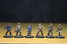 Walking Dead All Out War Game Miles Behind Us Expansion well painted miniatures