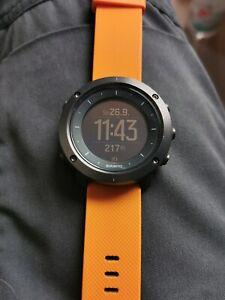 Suunto Traverse Amber Wie Neu Outdoor Navigation GPS Uhr Neuzustand
