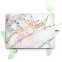 Pink Gold Cracked Marble Hard Cover Case For Macbook Pro Retina Air 11 12 13 15