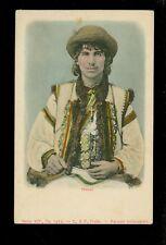 AK Hucul - rencznie kolorowane 1900